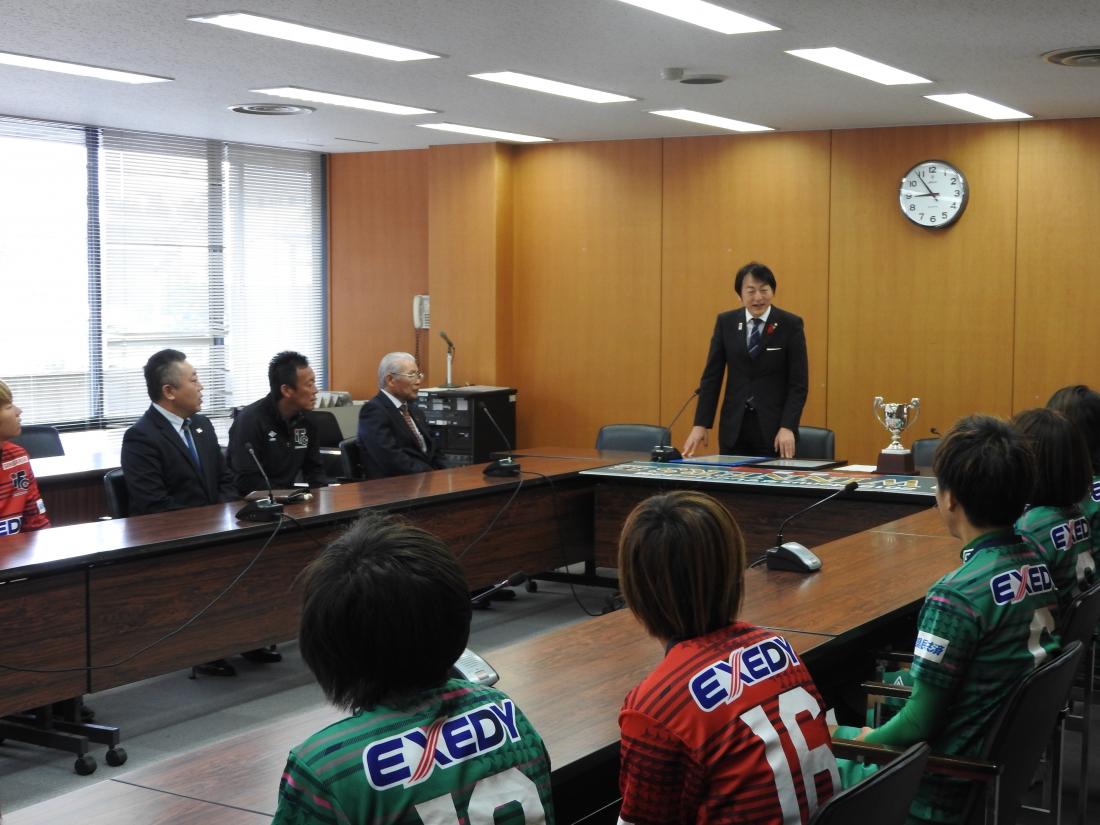 伊賀市長表敬訪問