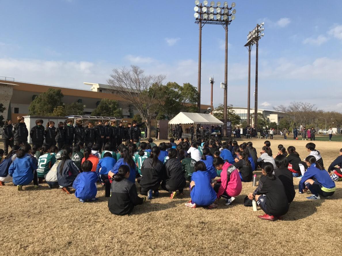 JFA レディース/ガールズサッカーフェスティバル2018 三重 in 鈴鹿 !!