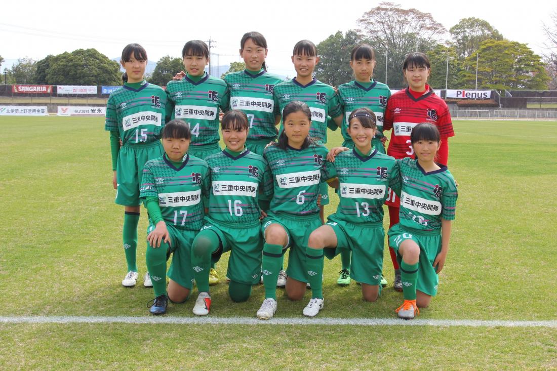 U-15なでしこアカデミーカップ2019 WEST 第2節 試合結果