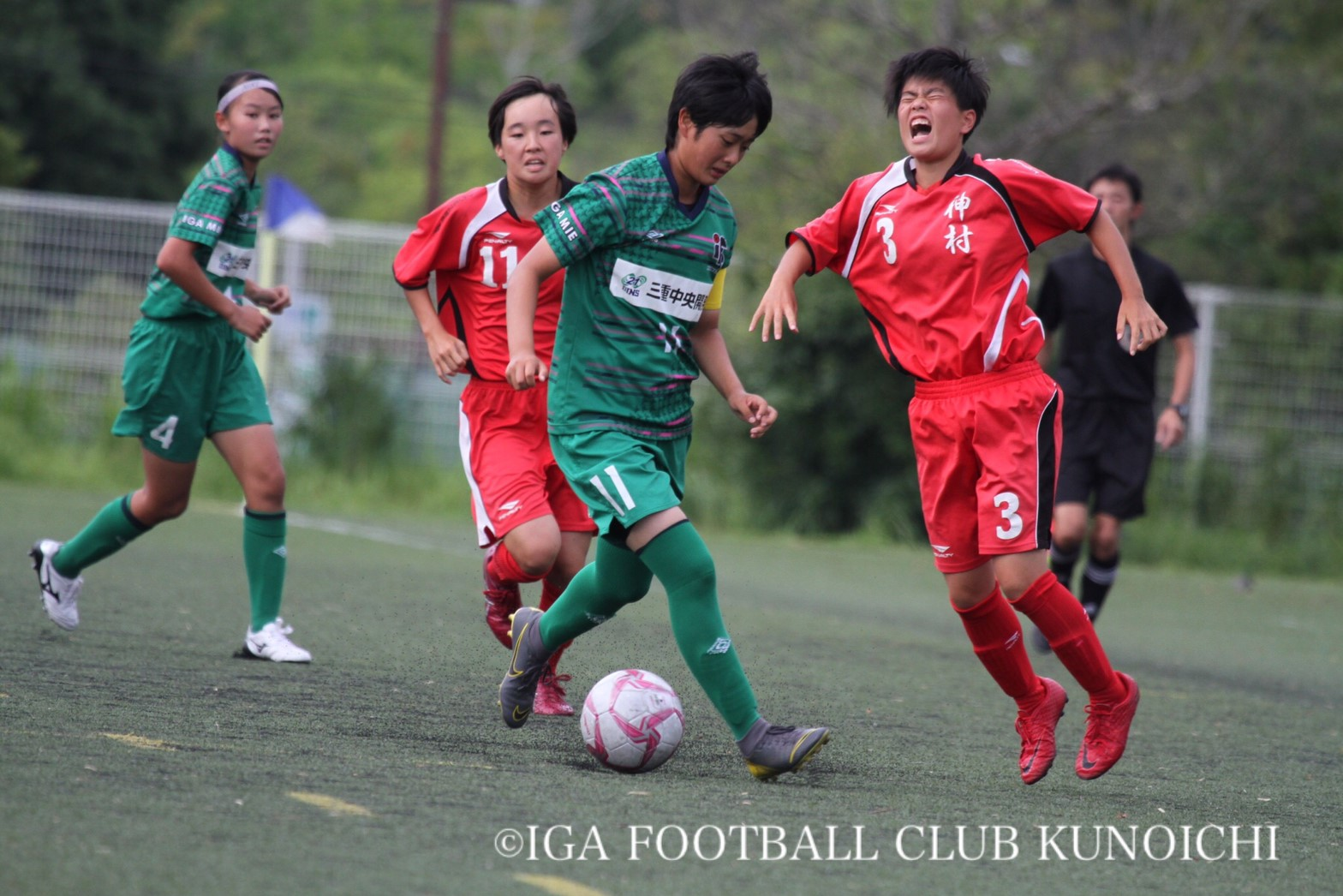 女子 神村 サッカー 学園
