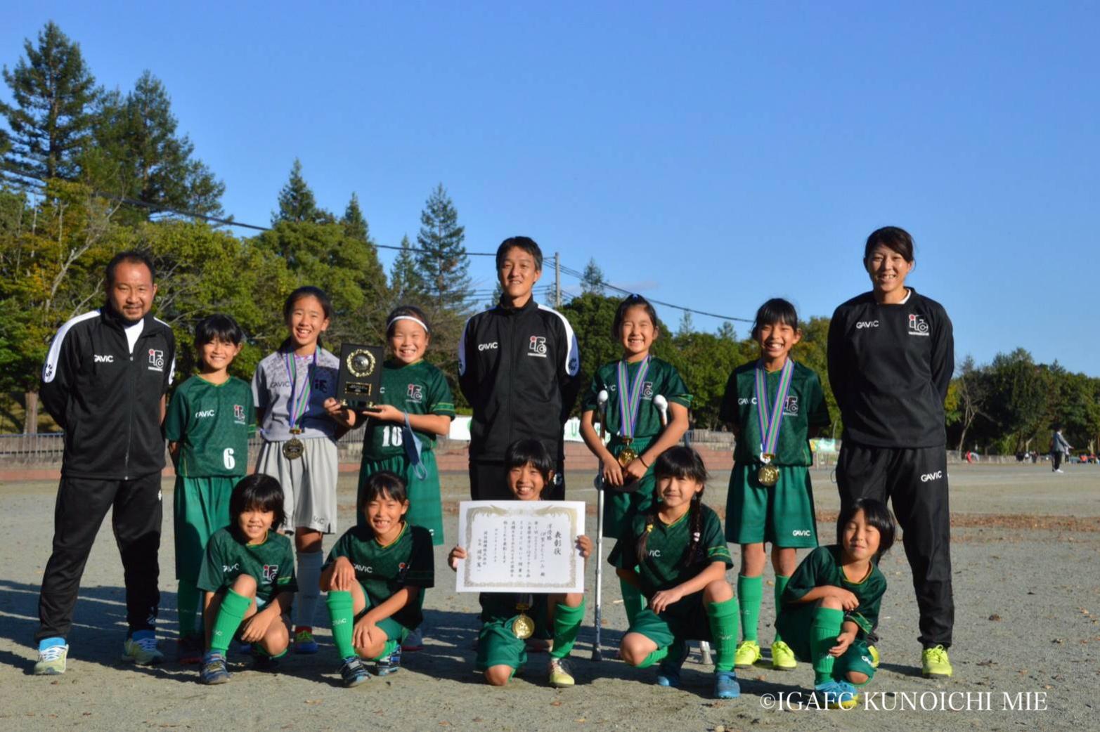 【伊賀FCくノ一三重ジュニア】第1回 OKAYA CUP 三重県U10サッカー大会 試合結果